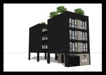 Ontwerpstudie studio appartementen Veenendaal
