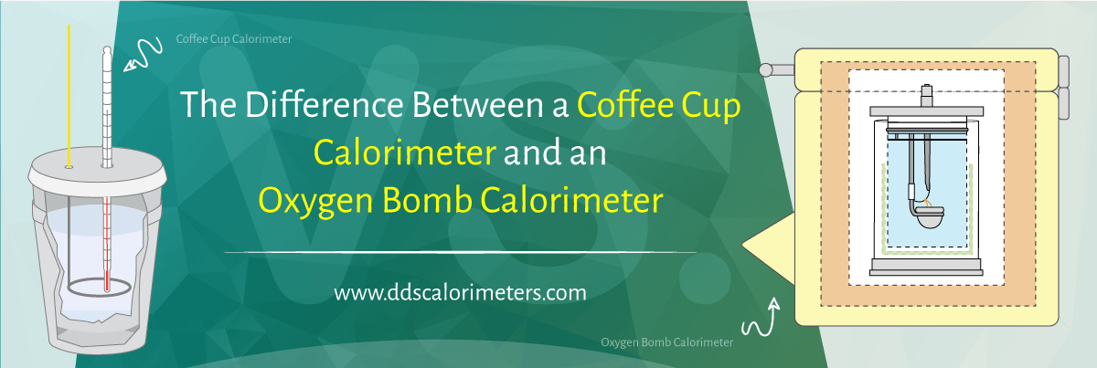 The Difference Between a Coffee Cup Calorimeter and an Oxygen Bomb Calorimeter | DDS Calorimeters