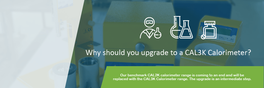 Upgrading from the CAL2K Calorimeters to the CAL3K Calorimeters | DDS Calorimeters