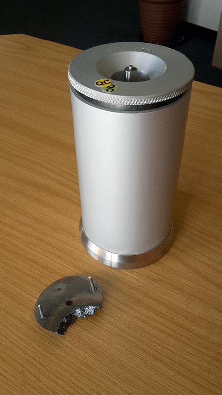 Carbon Fibre Samples | DDS Calorimeters