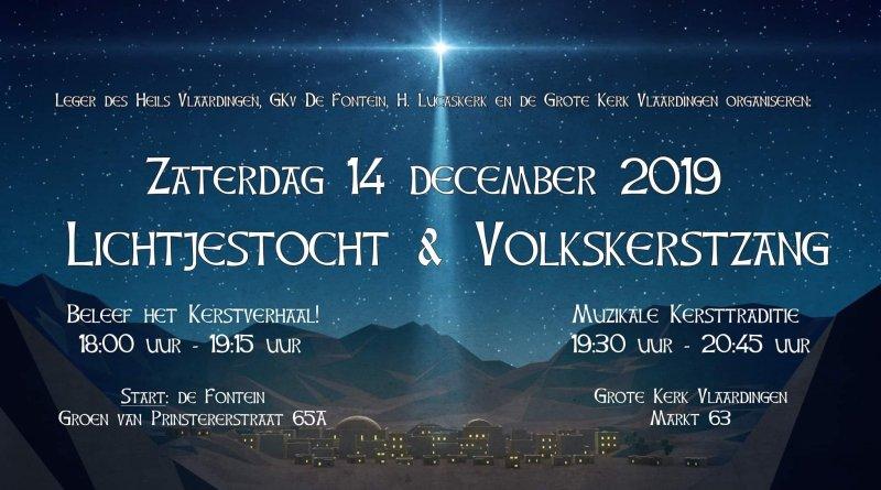 Lichtjestocht & Volkskerstzang Vlaardingen 2019
