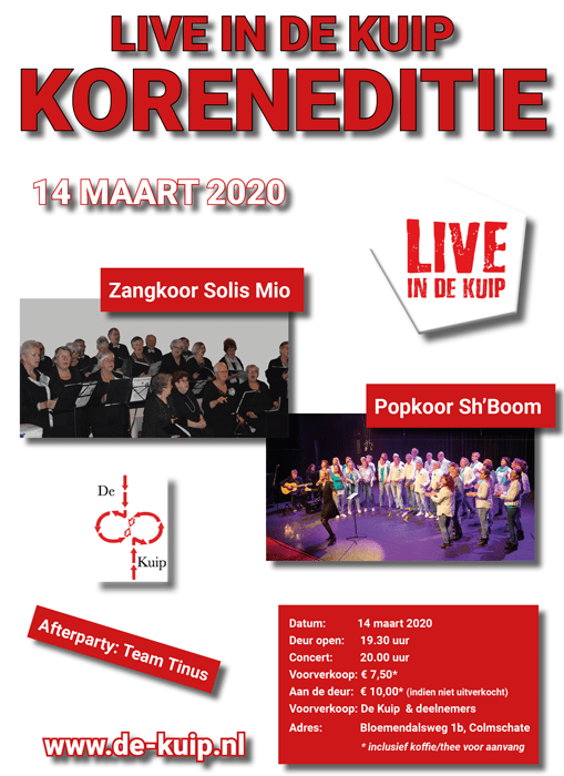 Live in De Kuip Koreneditie 2020 poster