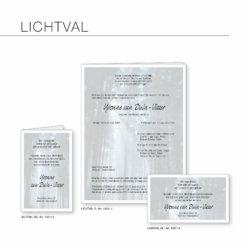 Rouwserie, Lichtval, drukkerij