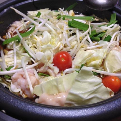 モツ鍋野菜