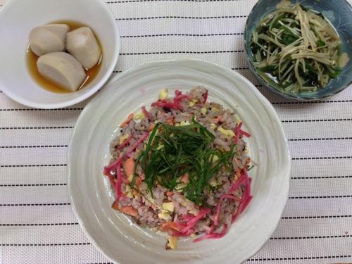 鮭の混ぜ寿司セット