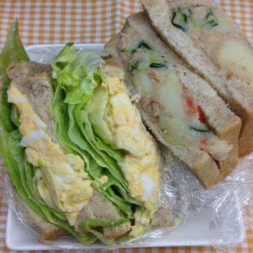 th_オメガ3とアマニ油ツナサンドイッチ