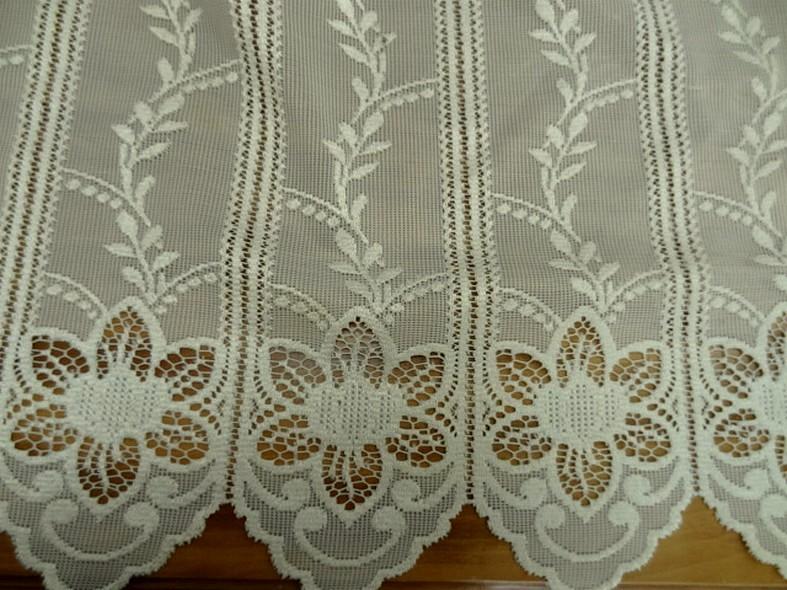 brise bise blanc creme facon crochet 1 68 cm de hauteur