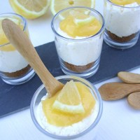 Citroenmousse met lemoncurd