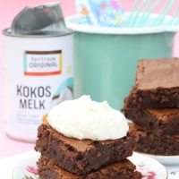 Kokos brownies