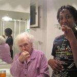 met mijn moeder in Rome beginnend dementeren