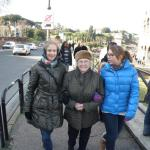 met mijn moeder in Rome