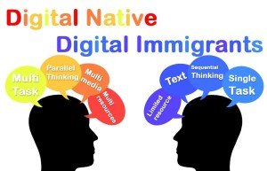 Demotie want als digital immigrant wordt je nooit een digital native