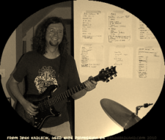 John K Band rehearshal - lots of possible songs!