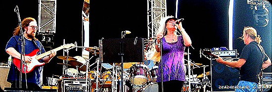Donna Jean Godchaux band at Gathering of the Vibes 2010