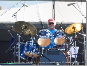 Bill Kreutzmann - The Rhythm Devils - Gathering of the Vibes 2011