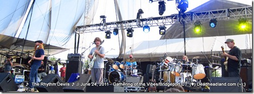 The Rhythm Devils - Gathering of the Vibes 2011