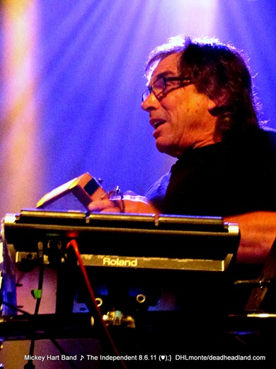 Mickey Hart and RAMU - Mickey HArt BAnd - The Independent, SF 8.6.2011