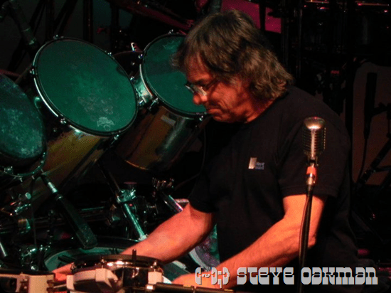 Mickey Hart - Napa Valley Opera House Aug. 2011 photo by Steve Oakman