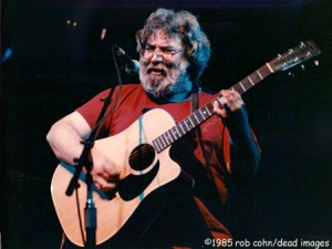 """Jerry Picture of Jerry Garcia, May 23, 1985, Denver, CO, """"She Belongs To Me"""" - ©robbi cohn dead images"""
