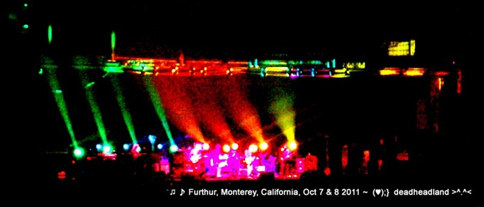 Furthur - Monterey California Oct. 8 2011