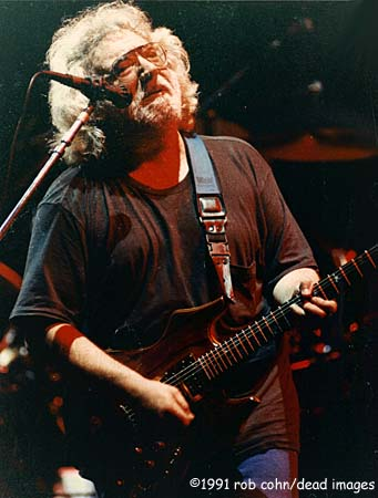 Grateful Dead - Jerry Garcia  February 19 1991 Oakland CA  #12499