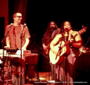 Mickey Hart Band - Yoshi's 11.28.2011