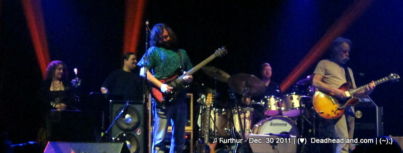 ♫ Furthur - Dec. 30 2011 | (♥) by happycat! for Deadheadland.com | (~);}