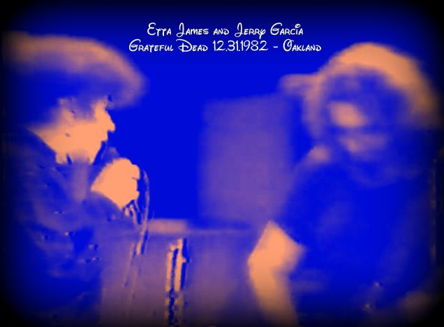 """Etta James and the Grateful Dead  """"Hard To Handle"""" Dec. 31 1982"""