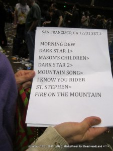 2nd set - Furthur NYE 2011 > 2012 | (♥);} MarkoVision for DeadHeadLand
