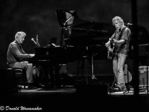 Bob Weir and Bruce Hornsby at The Fox Theatre, Oakland, CA April 1, 2012 ©Donald Wanamaker