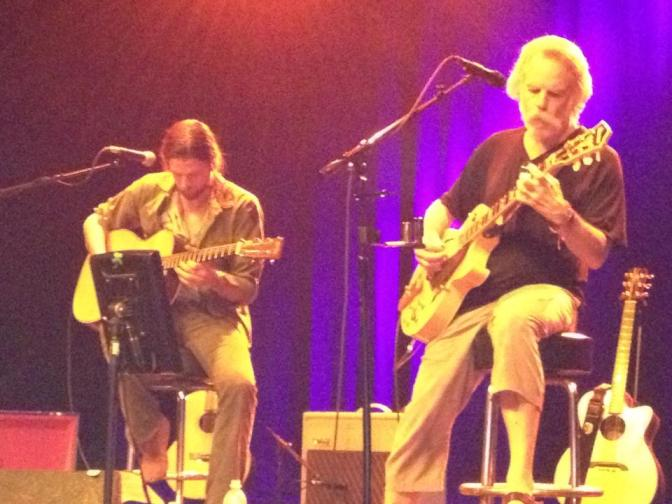 Jonathan Wilson and Bob Weir - Ventura 3.2.2012 by Sandy L.