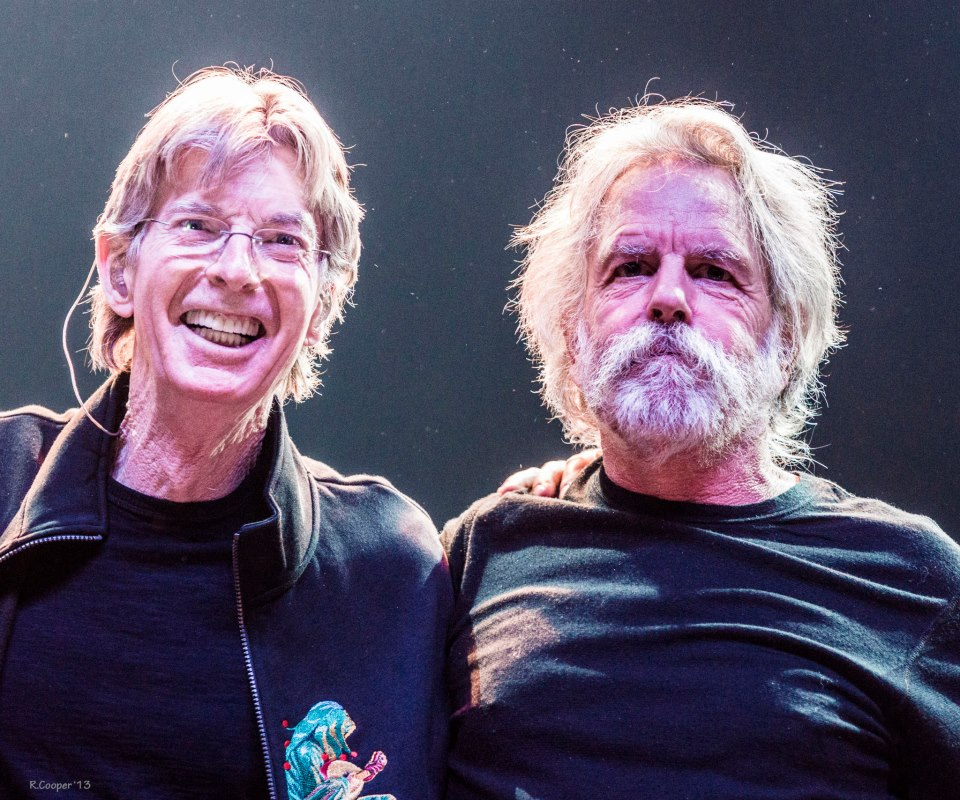 Bob Weir and Phil Lesh 2013.04.27 Atlantic City by R Cooper b
