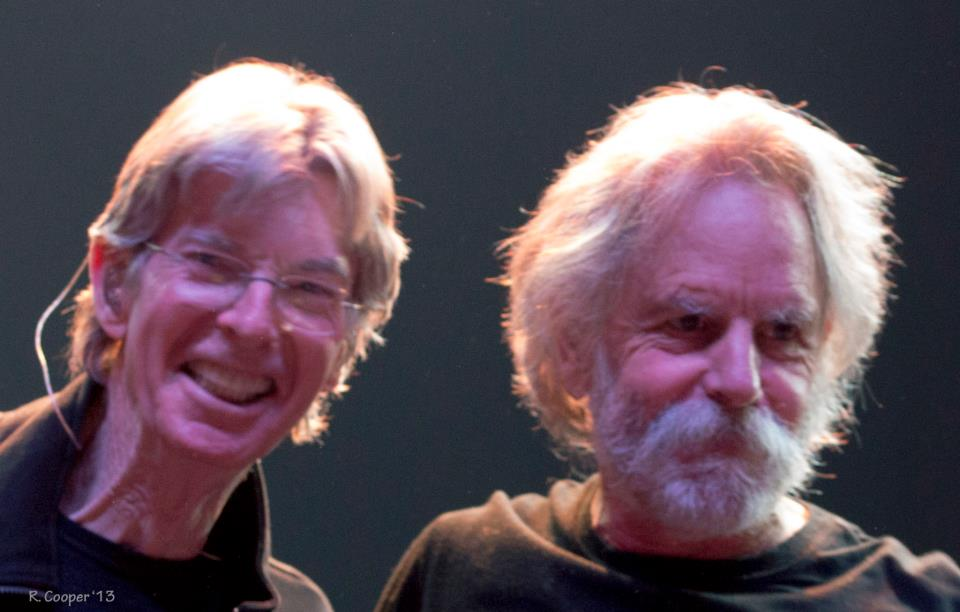 Bob Weir and Phil Lesh 2013.04.27 Atlantic City by R Cooper
