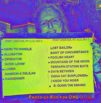 Setlist 20130421