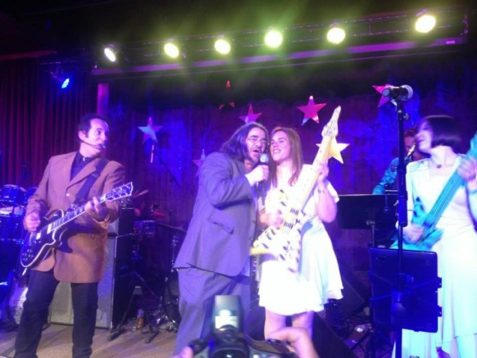 Happycat and Jani sing Touch of Grey with David Martin Band - TXR Prom - Photo by John Provost