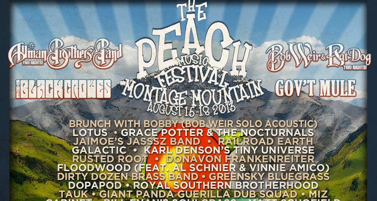 Setlist and Archive link: Bob Weir and RatDog at Peach Fest Friday August 16, 2013