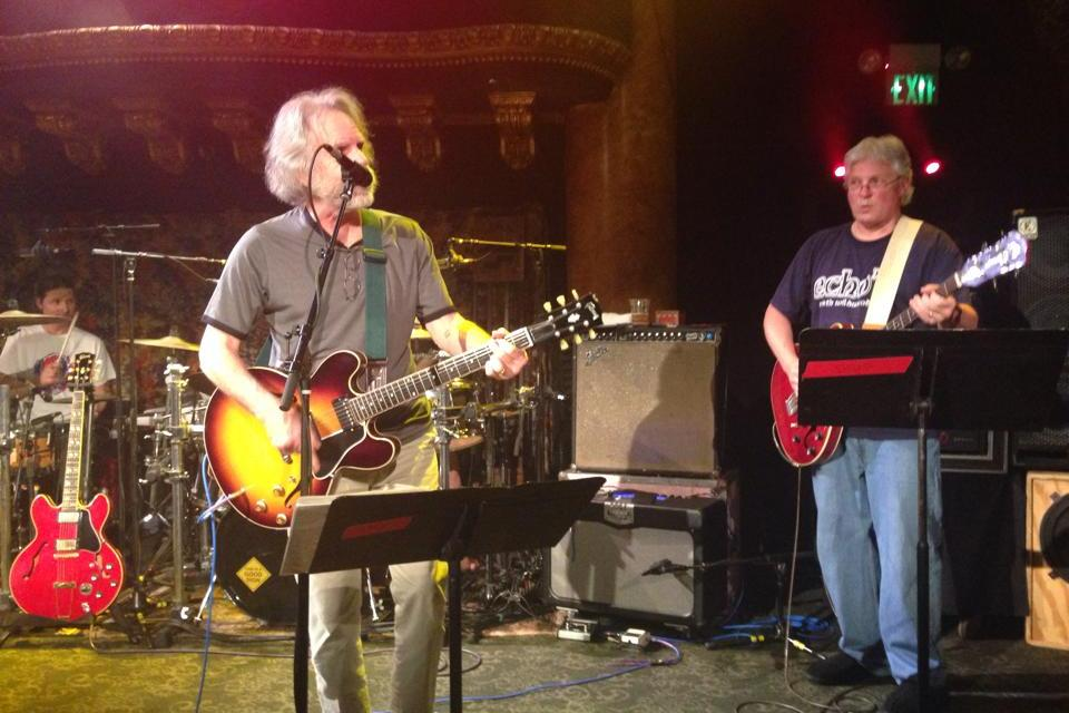 WEIR EVERYWHERE DEPT: Bob Weir Sits in with Dark Star Orchestra at Great American Music Hall San Francisco