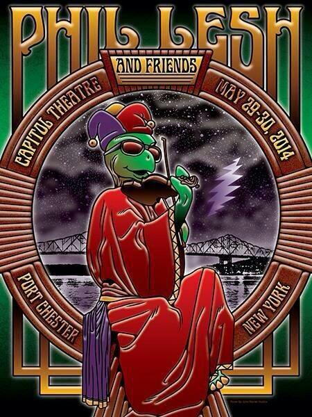 SETLIST: Phil Lesh and Friends, The Capitol Theatre, Port Chester NY May 29, 2014
