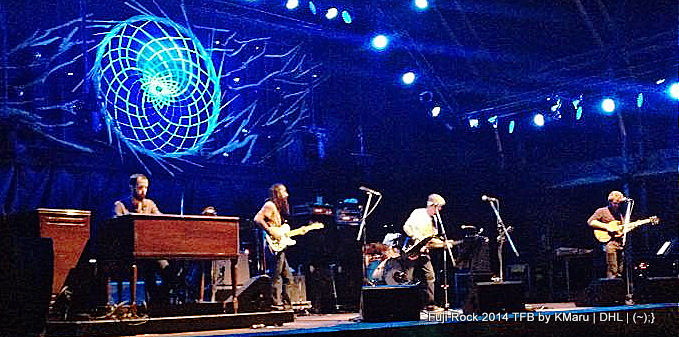 Fuji Rock 2014 - Japan - Phil Lesh and the Terrapin Family Band