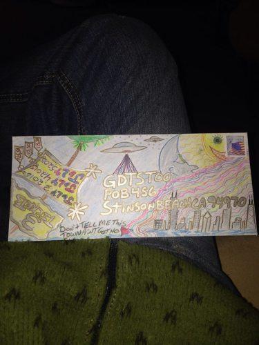 Deadhead ENvelope Art for Dead 50 orders (50)