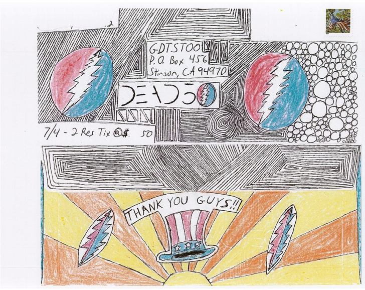 Deadhead ENvelope Art for Dead 50 orders (55)
