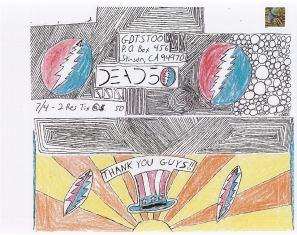 Deadhead ENvelope Art for Dead 50 orders (55)