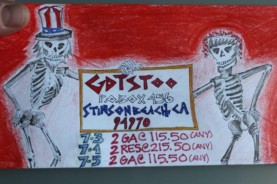 and more envelopes by deadheads! (16)