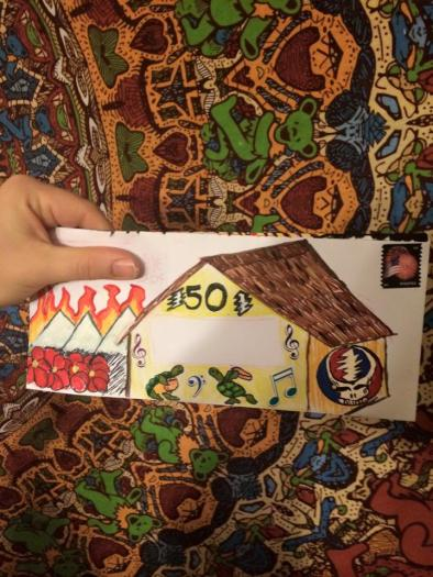 and more envelopes by deadheads! (3)