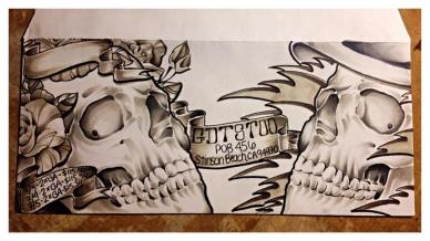 and more envelopes by deadheads! (4)