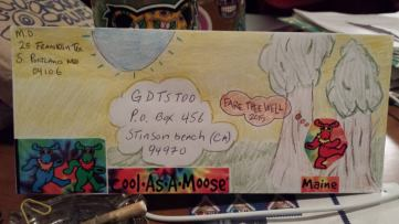 and more envelopes by deadheads! (8)