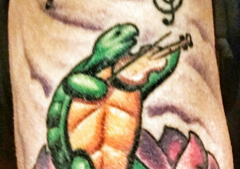 Tattoo Tuesday Feb. 3 2015 –  Terrapin lotus