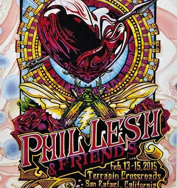 Setlist: Phil Lesh & Friends with Stanley Jordan, Fri. Feb. 13, 2015, The Grate Room,  Terrapin Crossroads San Rafael, CA