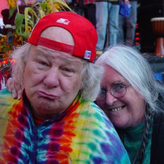 Wavy Gravy and  Calico