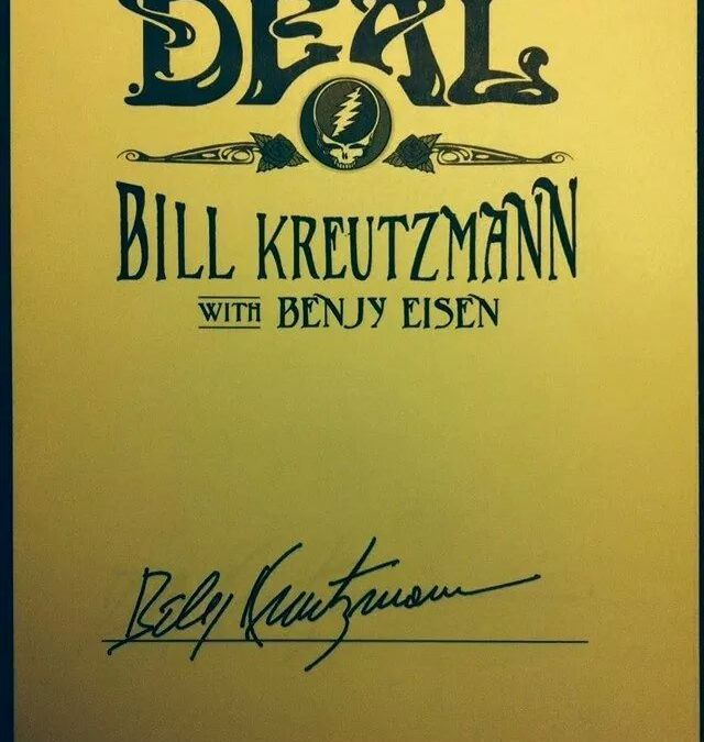 Random Acts of Kindness Dept: Head finds and returns Bill Kreutzmann's lost signed book covers